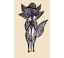 Rich Racoon Photographic Print