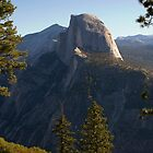 Glacier Point View by Barbara Schmaeling