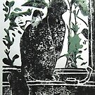 Cat at the Window by Jeffrey DeVore