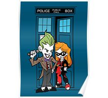 Madman in a blue box Poster