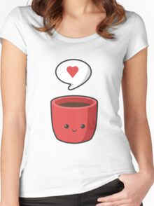 Cute Mug Women's Fitted Scoop T-Shirt