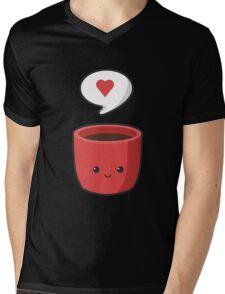 Cute Mug Mens V-Neck T-Shirt