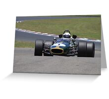 Brabham BT 24 Greeting Card