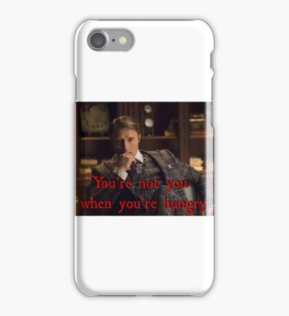 Hannibal - clever slogan  iPhone Case/Skin