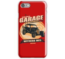 Warboys Garage! iPhone Case/Skin