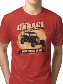 Warboys Garage! Tri-blend T-Shirt
