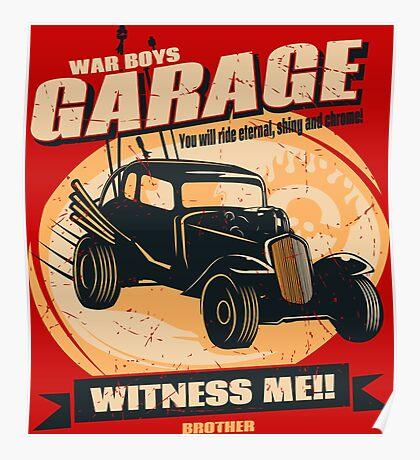 Warboys Garage! Poster