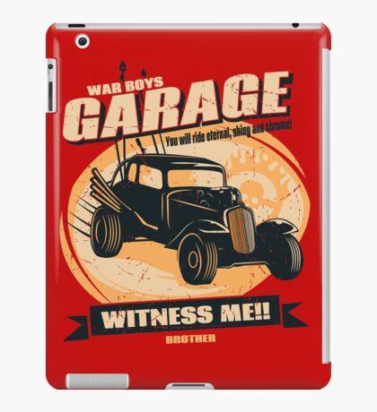 Warboys Garage! iPad Case/Skin
