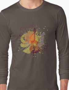 Music Poster with Guitar 5 Long Sleeve T-Shirt