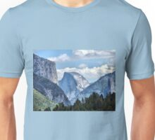 Valley View of El Capitan and Half Dome Unisex T-Shirt