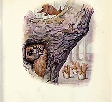 The Tale of Squirrel Nutkin Beatrix Potter 1903 0059 Escaped Without His Tail by wetdryvac