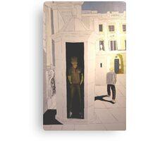 Royal Palace Guard, Madrid Canvas Print