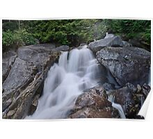 Small Waterfall at Chief Trailhead Poster
