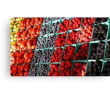 Berry Wise Canvas Print