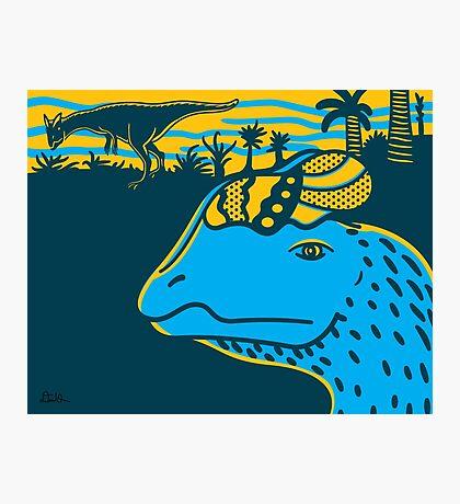 Dilophosaurus Duo Print Photographic Print