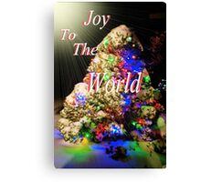 Joy To The World Canvas Print