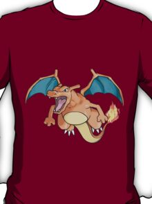pokemon charizard anime manga shirt T-Shirt