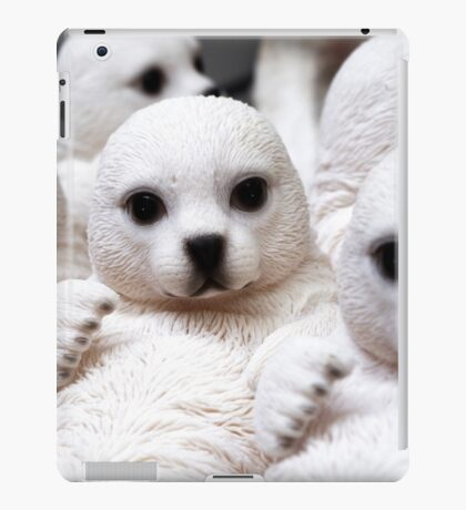 Adorable Seal Pups iPad Case/Skin