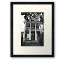 Turman House at Jordan's Point Framed Print