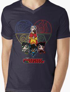 The Powerpuff Benders 2 Mens V-Neck T-Shirt