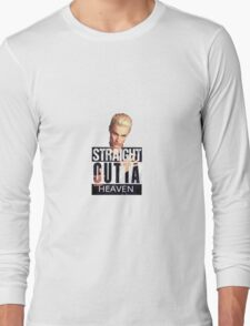 Spike- Straight Outta Heaven Long Sleeve T-Shirt