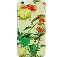 Vintage Style Floral Design iPhone Case/Skin