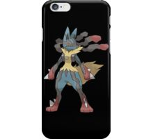 pokemon lucario anime manga shirt iPhone Case/Skin