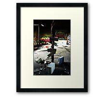 workplace revolt Framed Print