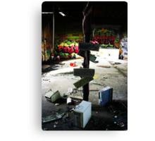 workplace revolt Canvas Print
