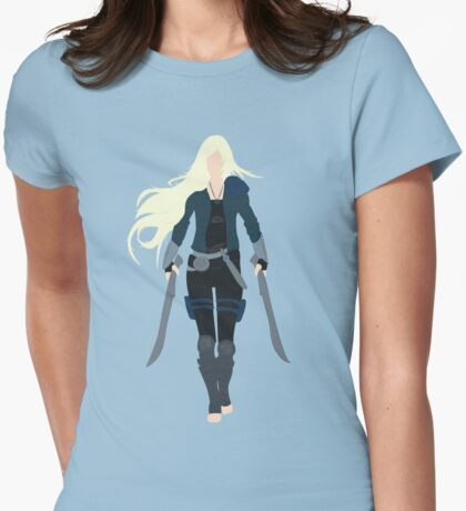 Celaena Sardothien - Minamalist - Throne of Glass Womens Fitted T-Shirt