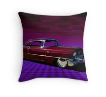 1954 Cadillac Custom Throw Pillow