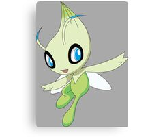 pokemon celebi anime manga shirt Canvas Print