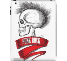 Skull Punk Rock iPad Case/Skin