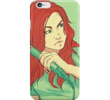 FLAT IRON iPhone Case/Skin