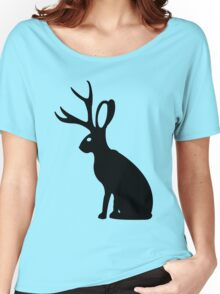 Jackalope geek funny nerd Women's Relaxed Fit T-Shirt