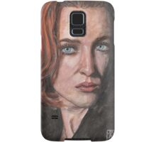 X-Files Agent Scully Samsung Galaxy Case/Skin