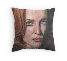 X-Files Agent Scully Throw Pillow