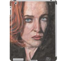 X-Files Agent Scully iPad Case/Skin