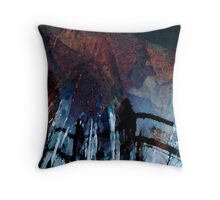 My Reflected Self-Digital Abrstract Throw Pillow