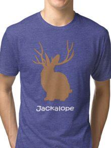 Jackalope funny nerd Tri-blend T-Shirt