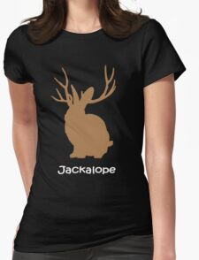 Jackalope funny nerd Womens Fitted T-Shirt