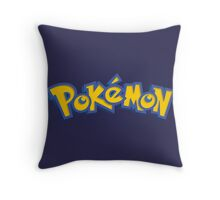 pokemon anime manga shirt Throw Pillow