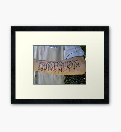 Daemon Framed Print