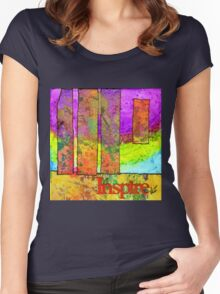 Three Plus One Equals More Than Four! Women's Fitted Scoop T-Shirt