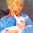 Good shepherd  by vickimec