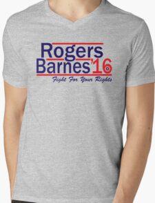 Rogers Barnes '16 Mens V-Neck T-Shirt