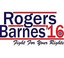 Rogers Barnes '16 Photographic Print