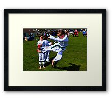 Action............ Framed Print