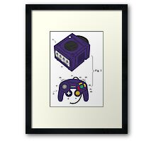 Game Cube and a Controller Framed Print