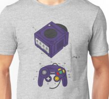 Game Cube and a Controller Unisex T-Shirt